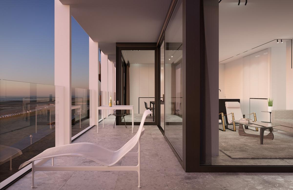 Interieur vs exterieur nieuwbouw appartementen te koop for Exterieur interieur